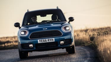 ... To a two-litre, turbocharged four cylinder petrol in the Cooper S ALL4