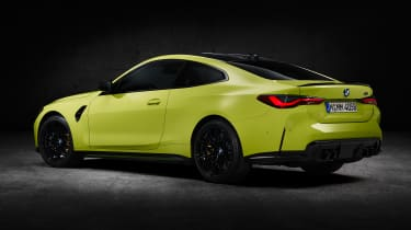 2021 BMW M4 Competition Coupe - rear 3/4 static