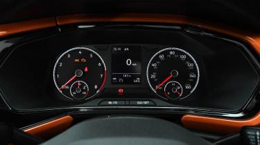Volkswagen T-Cross SUV dashboard