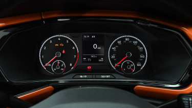 Volkswagen T-Cross SUV dashboard