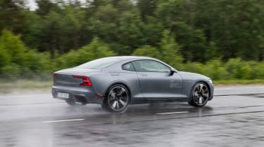 2019 Polestar 1 prototype - rear 3/4 dynamic