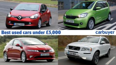 Best used cars for £5,000 header