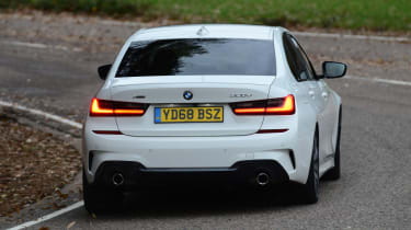 BMW 3 Series rear tracking