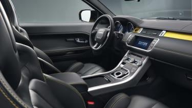 Range Rover Evoque SUV 2013 Limited Edition Sicilian Yellow interior front