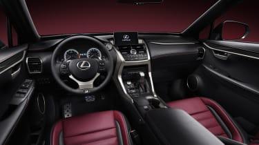 Lexus LF-NX SUV 2014 dashboard