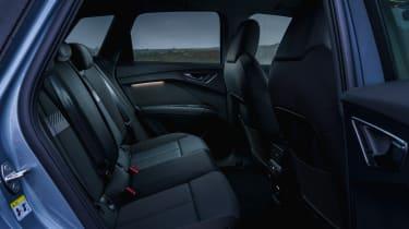 Audi Q4 e-tron SUV rear seats