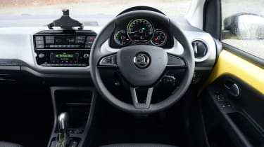 Skoda Citigo e iV hatchback interior