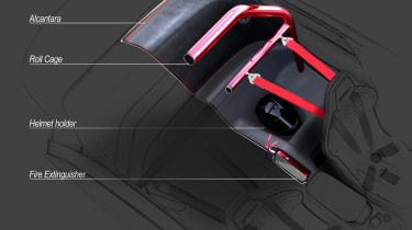 Alfa Romeo Giulia GTAm interior details