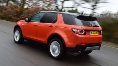Land Rover Discovery Sport - rear 3/4 view