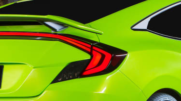 Instant recognition was very much the aim behind the new Honda Civic coupe concept's design