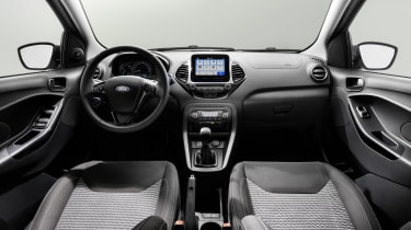 Ford Ka+ hatchback interior