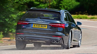 Audi S6 Avant estate rear cornering