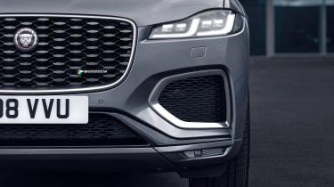 2020 Jaguar F-Pace - front close up