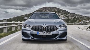 BMW 8 Series Gran Coupe - front on shot
