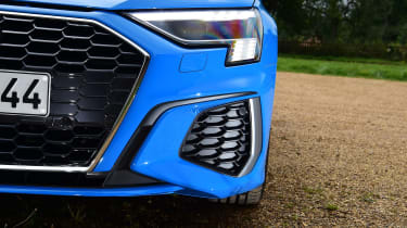 Audi A3 saloon headlights