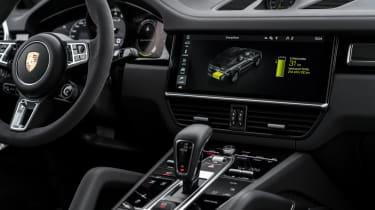 Porsche Cayenne Turbo S E-Hybrid - interior centre console