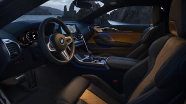 BMW M8 Competition coupe - interior lighting