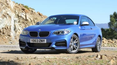 M Sport models have distinctive styling upgrades and 18-inch alloy wheels