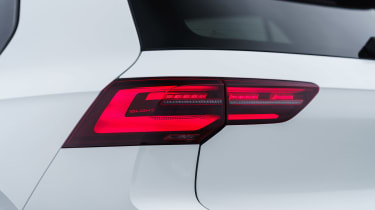 Volkswagen Golf GTI hatchback rear lights
