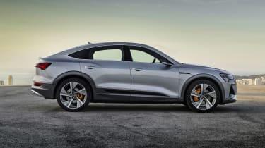 Audi e-tron Sportback side view
