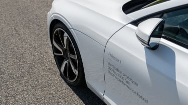 2019 Polestar 1 prototype - front flank close up