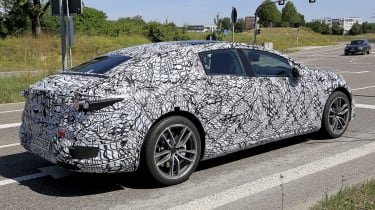 Mercedes EQS spotted in camouflage