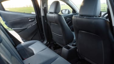 Mazda2 rear seats