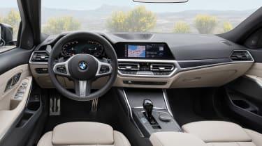 2019 BMW 3 Series Touring - interior