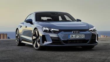 Audi e-tron GT in blue