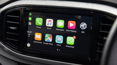 MG3 Apple CarPlay