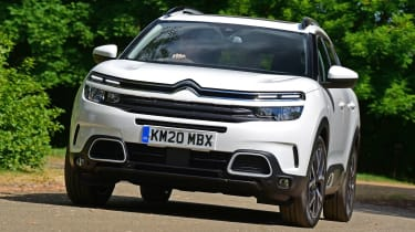 Citroen C5 Aircross SUV front cornering