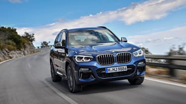 It fits beneath the flagship BMW X5 and smaller BMW X1, introducing its own look and character