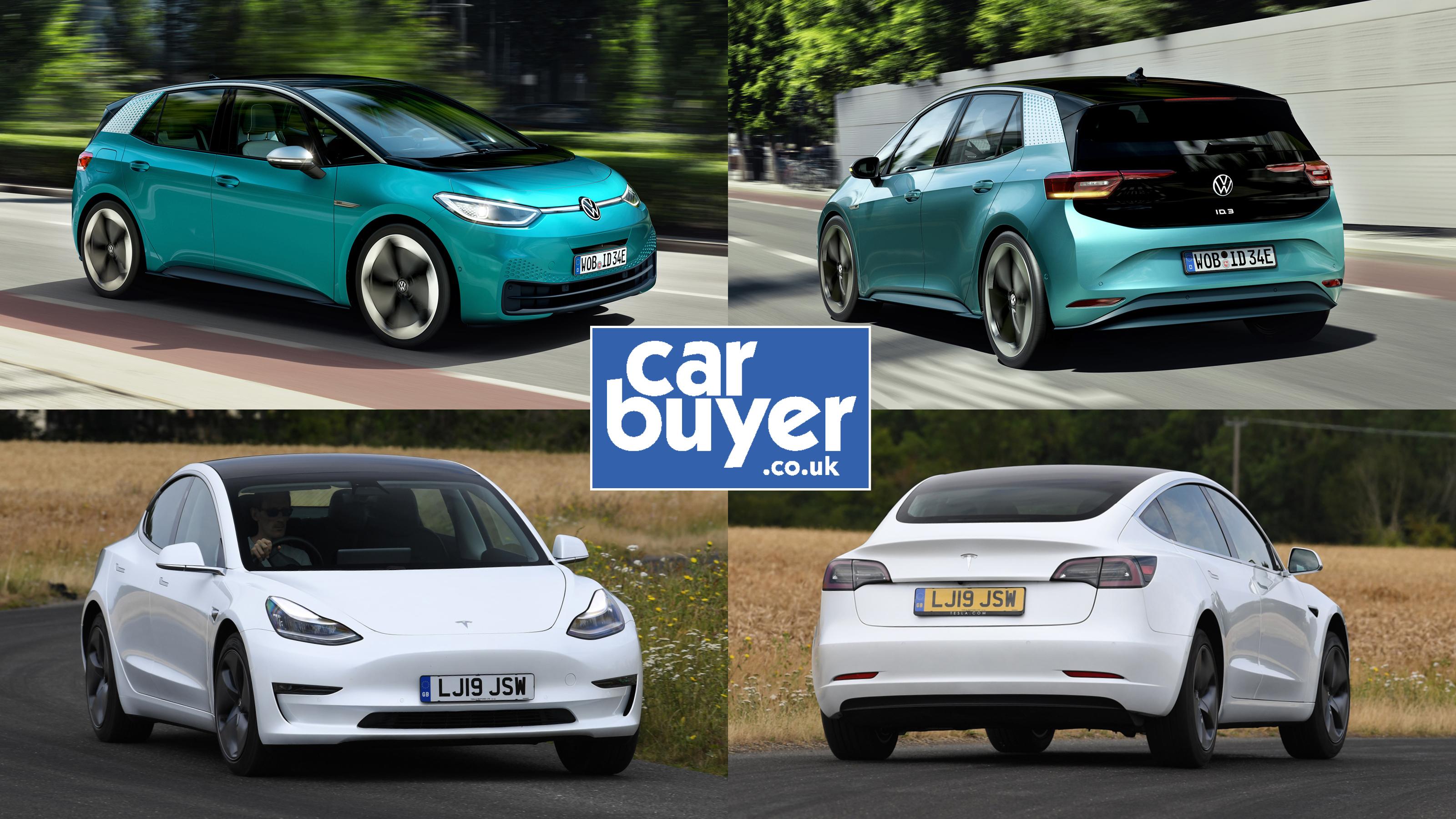 New Volkswagen ID.3 vs Tesla Model 3: specs comparison ...