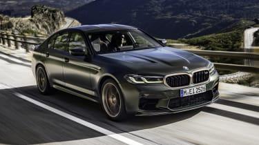 2021 BMW M5 CS - front 3/4 dynamic