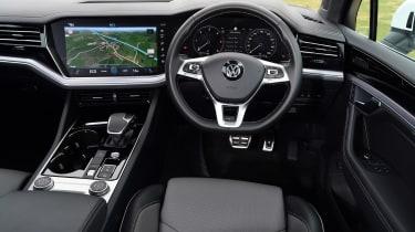 Volkswagen Touareg SUV interior