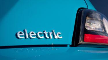 Hyundai Kona Electric SUV badge