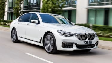 The 7 Series is BMW's flagship saloon