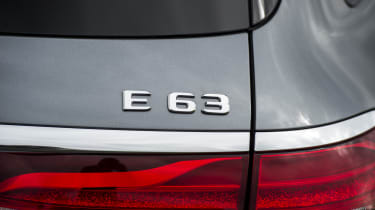While the designation used to denote engine capacity, the E 63 now uses a 4.0-litre engine