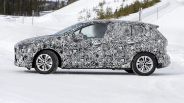 BMW 2 Series Active Tourer in development - side view