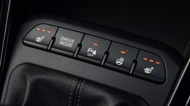 Kia Rio hatchback switches