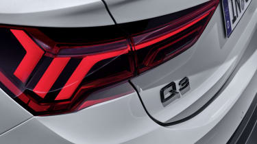 2019 Audi Q3 Sportback - rear lights close up