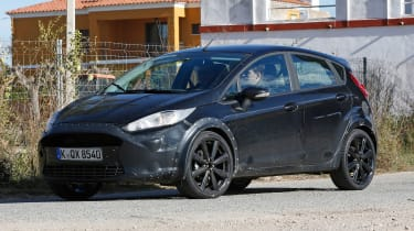 It was immediately apparent that Ford wasn't abandoning the Fiesta's successful, dynamic design