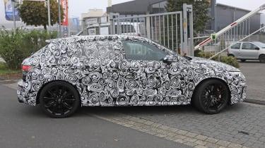 2021 Audi RS3 development mule