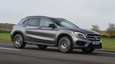 Mercedes-Benz GLA-Class AMG Line - front driving