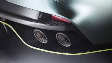 Aston Martin Rapid AMR – exhaust detail