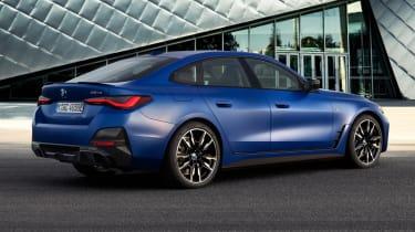 2021 BMW i4 M50 - rear 3/4