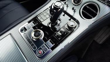 Bentley Continental GT gear selector