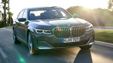 BMW 7 Series saloon front action