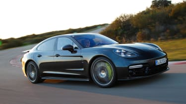 The Panamera Turbo S E-Hybrid is fast, comfortable and built to a very high standard