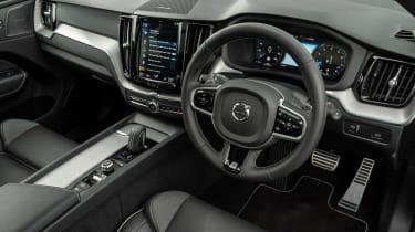 Volvo XC60 SUV steering wheel